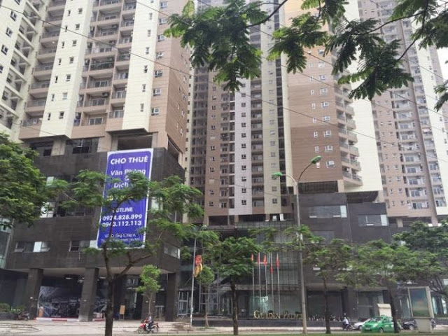 cho thue can ho golden palace nam tu liem dien tich 118m2 gia 950 usd thang