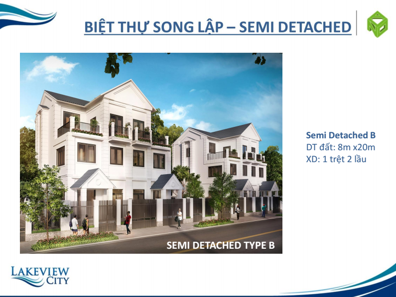 semi detached b