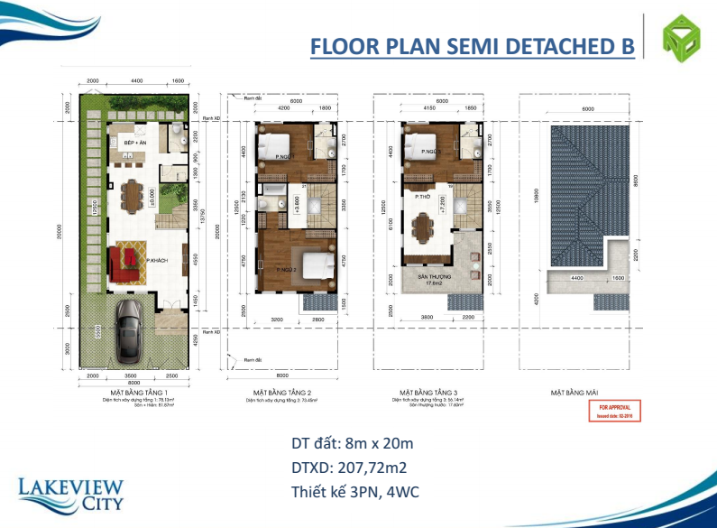 Floor plan semi detached b